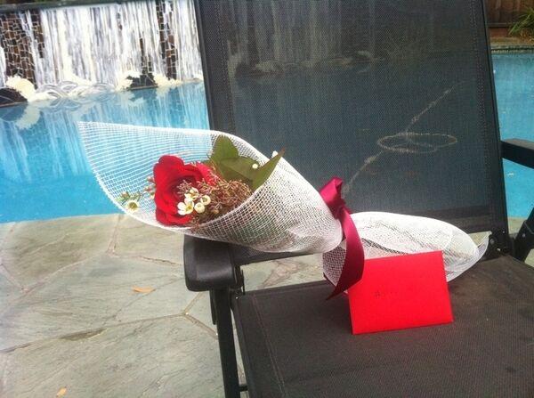 Фил Хельмут поздравил жену с Днем святого Валентина