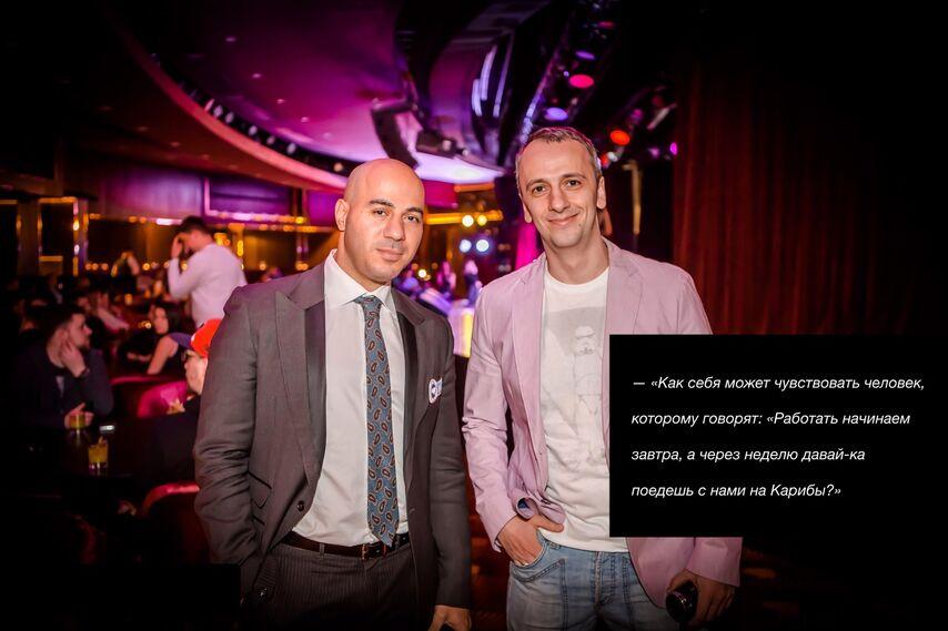 Михаил с Артуром Восканяном, основателем Eurasian Poker Tour и Poker Club Management