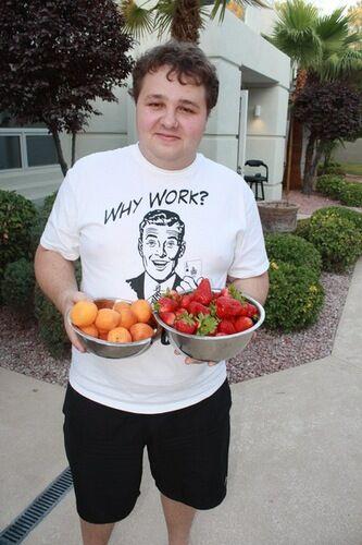 Михаил Александров в Лас-Вегасе, лето 2011