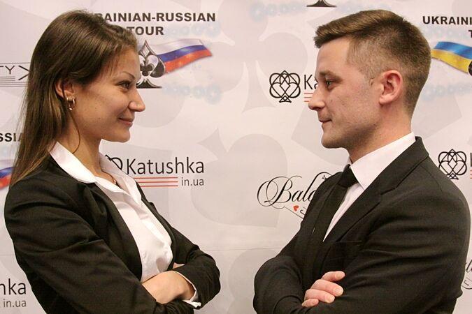 Вадим Кагарманов и Ксения Баранова