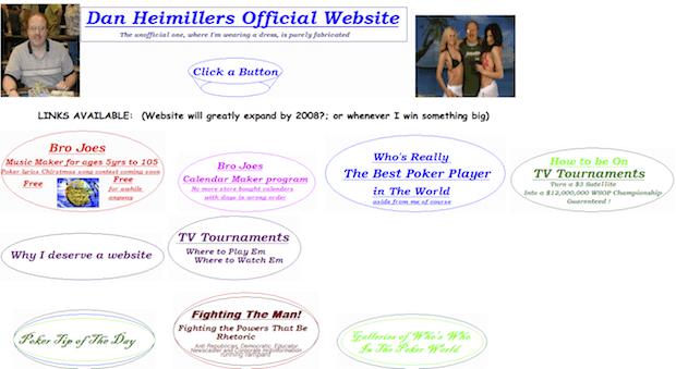 Легендарный сайт Дэна Хаймиллера