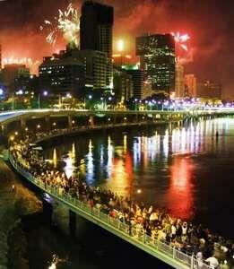 Праздничный Брисбен