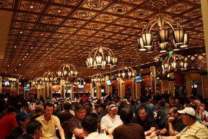 Покерный клуб в Bellagio